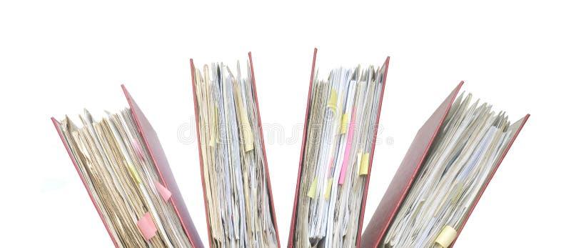 文件夹, 免版税库存照片