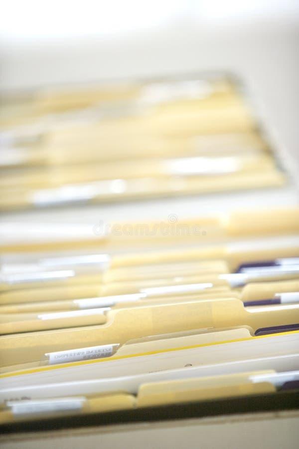 文件夹 库存照片