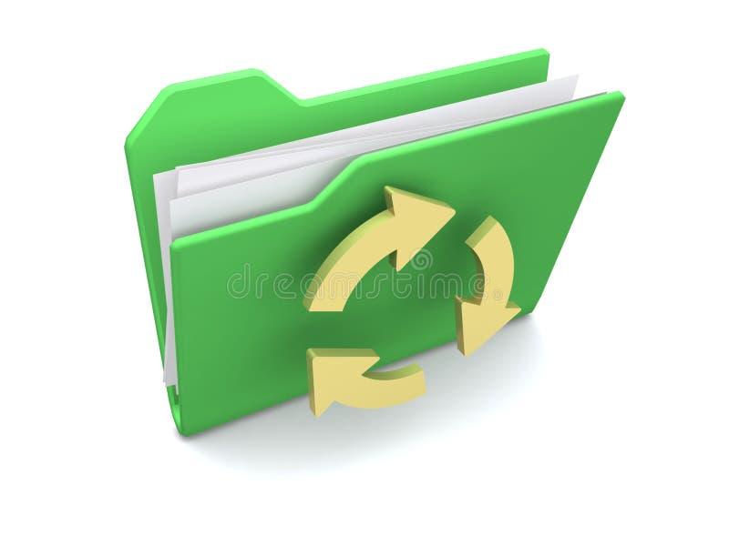 文件夹 向量例证