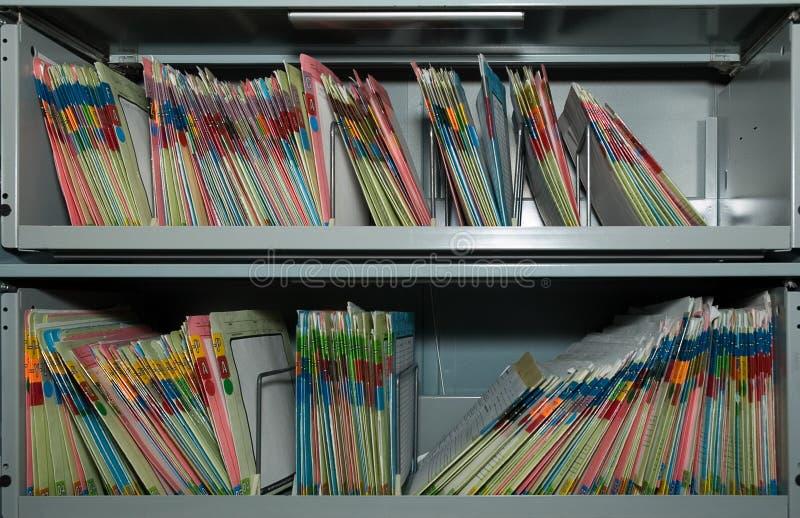 文件存储 图库摄影