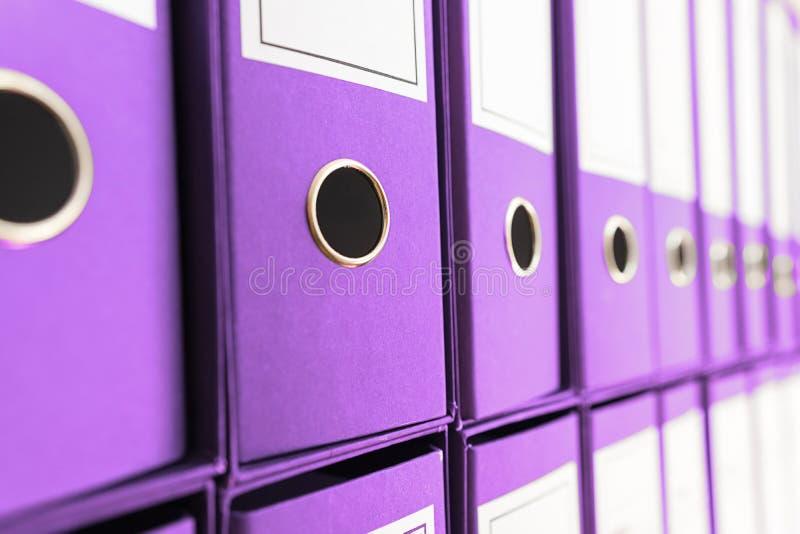 文件档案,圆环包扎工具 免版税库存图片