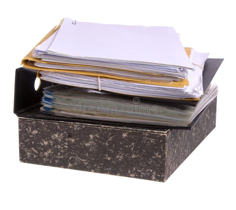 文件纸张 图库摄影