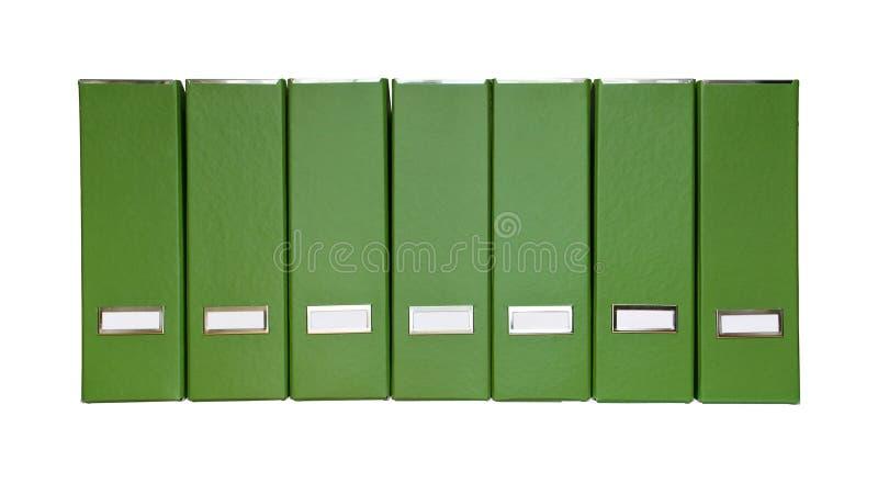 文件绿化查出的杂志 库存例证
