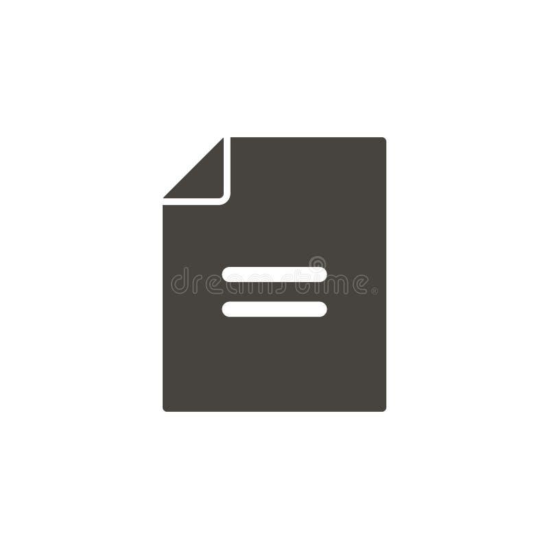 文件,合同,应用传染媒介象 illustrationFile简单的元素,合同,应用传染媒介象 物质概念 皇族释放例证