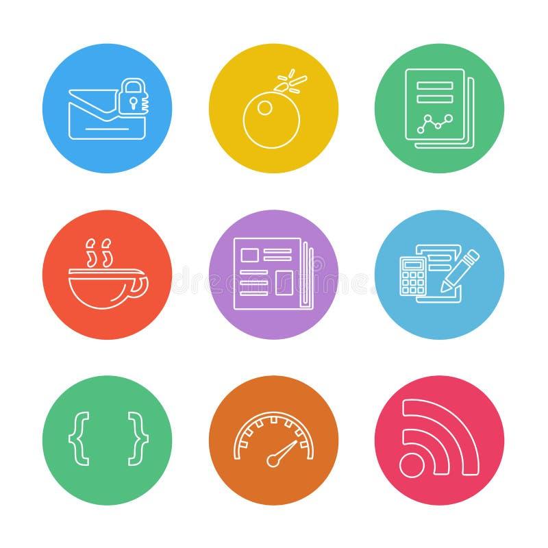文件,声音,多媒体,用户界面,尖, eps我 向量例证