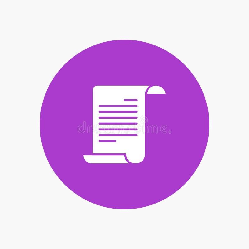 文件,文本,美国人,美国 向量例证