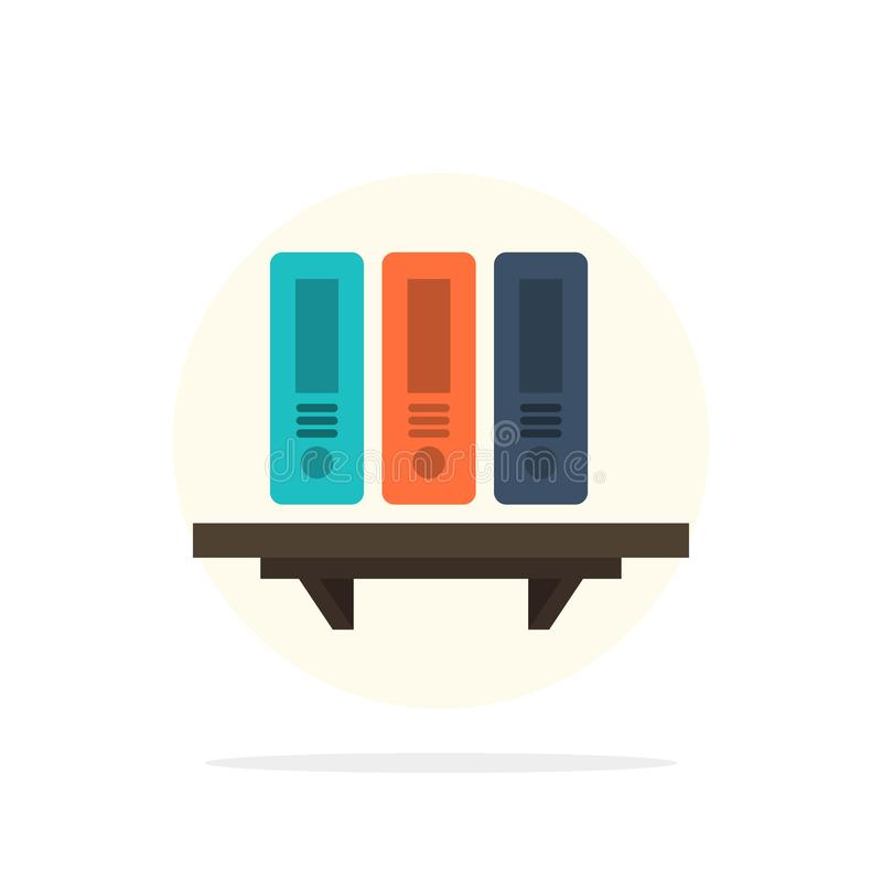 文件,档案,数据,数据库,文件,文件夹,存贮抽象圈子背景平的颜色象 向量例证