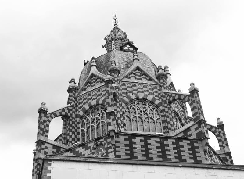 文化宫殿拉斐尔乌里维乌里维,广场Botero, MedellÃn,哥伦比亚 库存图片