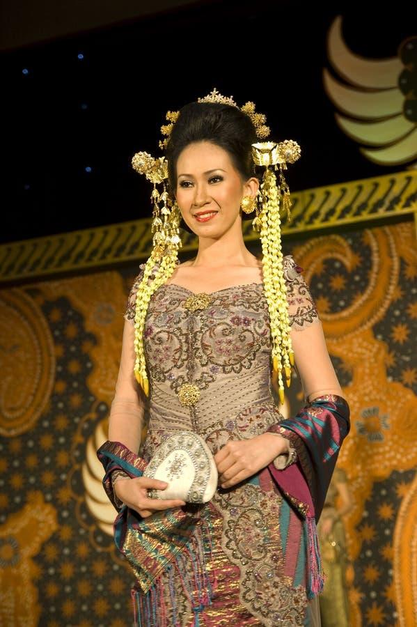 文化方式印度尼西亚显示 免版税图库摄影
