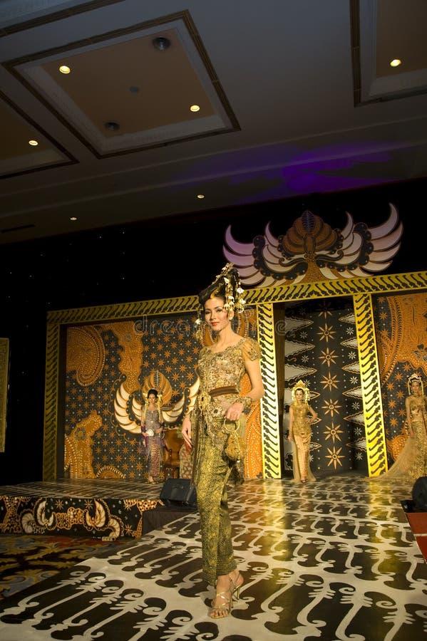 文化方式印度尼西亚显示 图库摄影