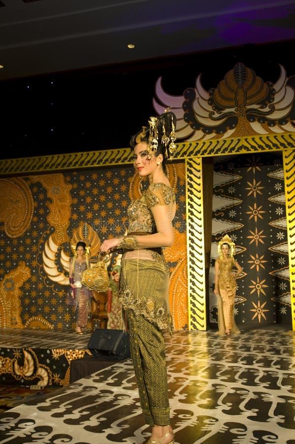 文化方式印度尼西亚显示 免版税库存图片