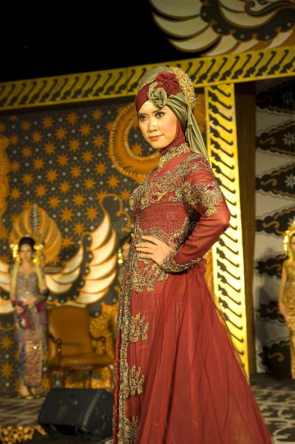 文化方式印度尼西亚显示 库存照片
