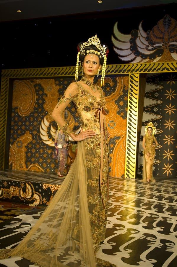 文化方式印度尼西亚显示 库存图片