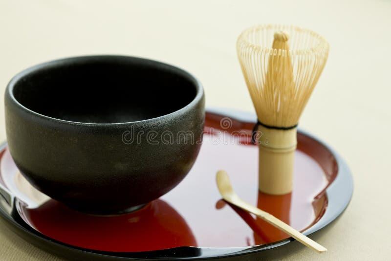 文化日本人茶 库存照片