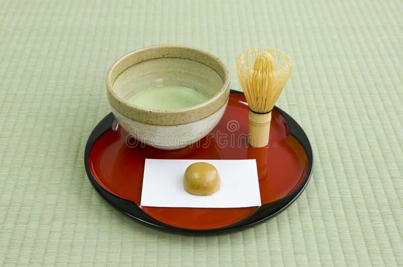 文化日本人茶 免版税库存照片