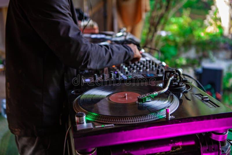 文化&现代音乐事件的融合 免版税库存图片
