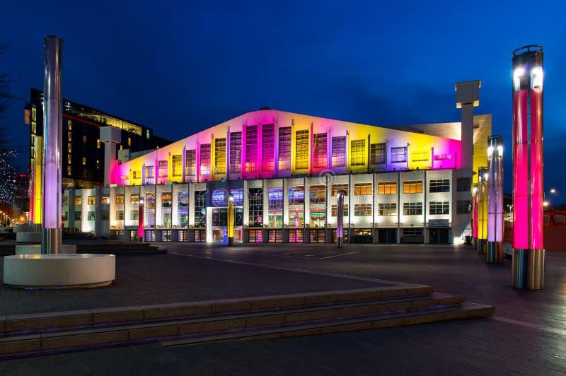 文布利竞技场在伦敦,英国 免版税图库摄影