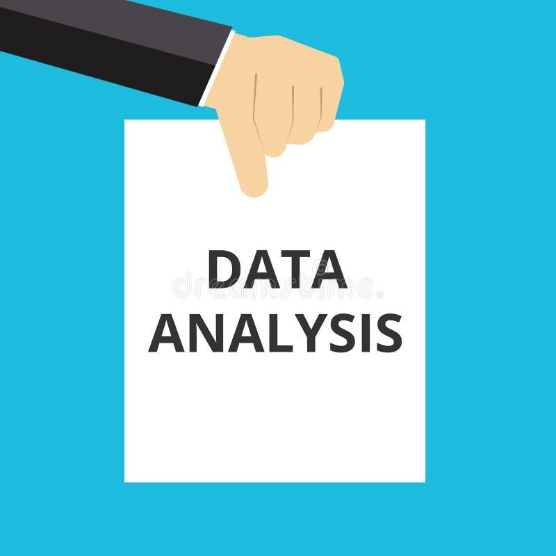文本数据分析 库存例证