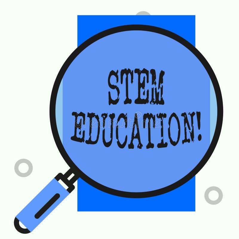 文本标志陈列词根教育 概念性照片开发主要和次要学生为学院做准备 向量例证
