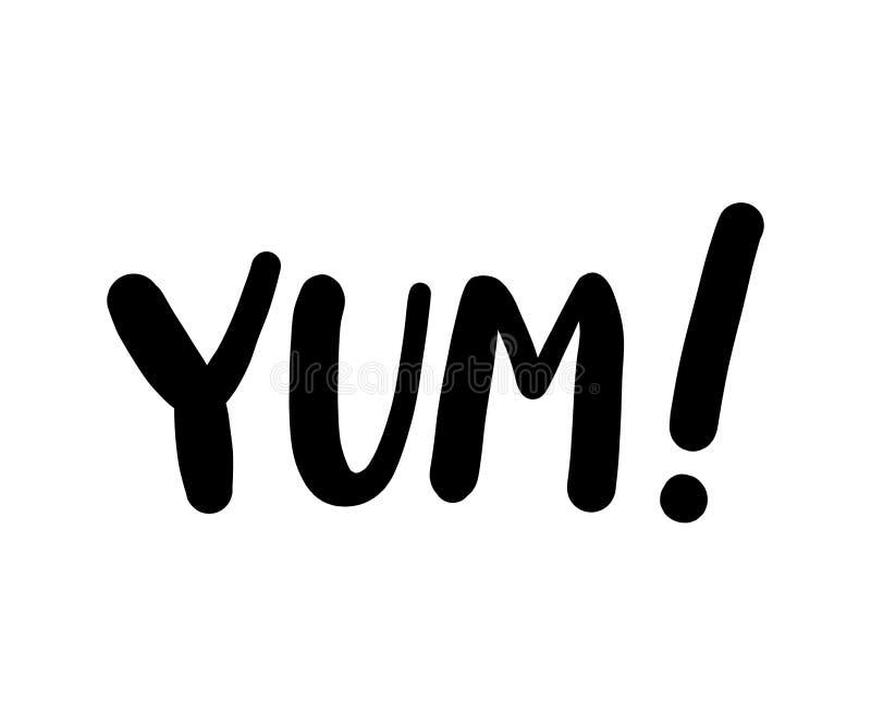 文本词 可印的图表发球区域 印刷品的设计乱画 也corel凹道例证向量 黑色白色 动画片样式 向量例证