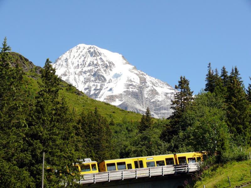 文根,瑞士 08/04/2009 r 库存图片