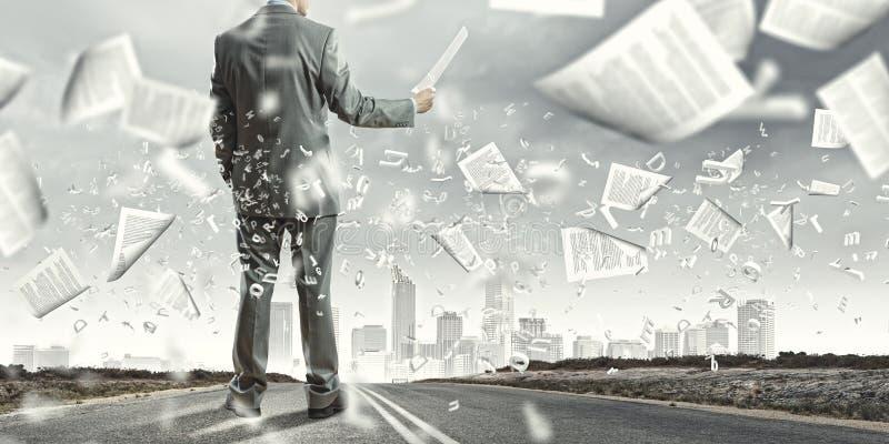 文献工作 免版税图库摄影