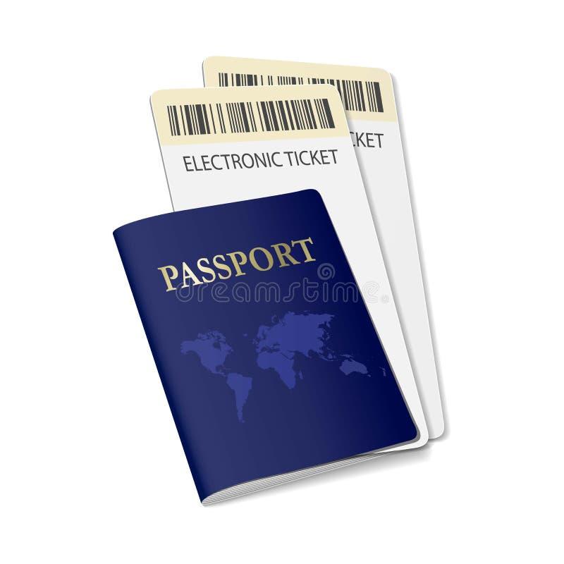 文件传染媒介卡片公民文件 库存例证