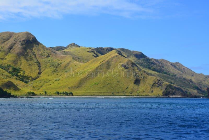 斐济多小山风景 图库摄影
