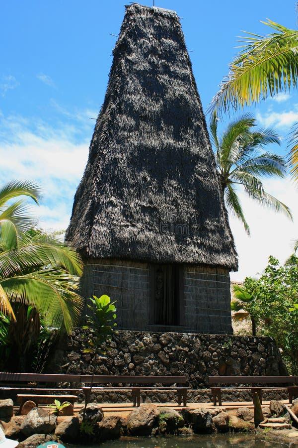 斐济寺庙 免版税库存图片
