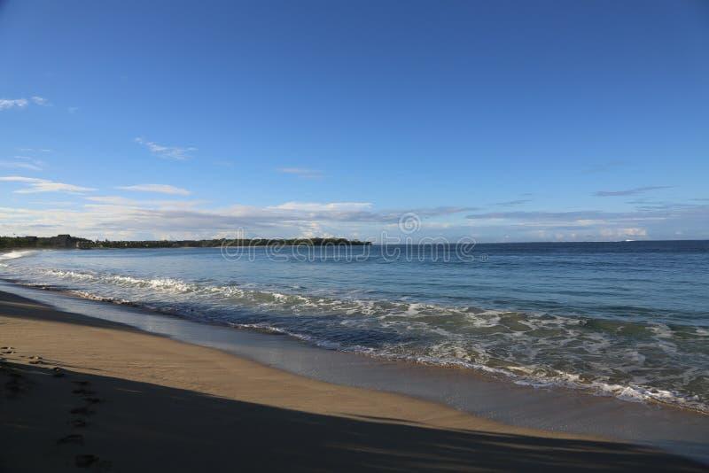斐济海滩 免版税库存照片