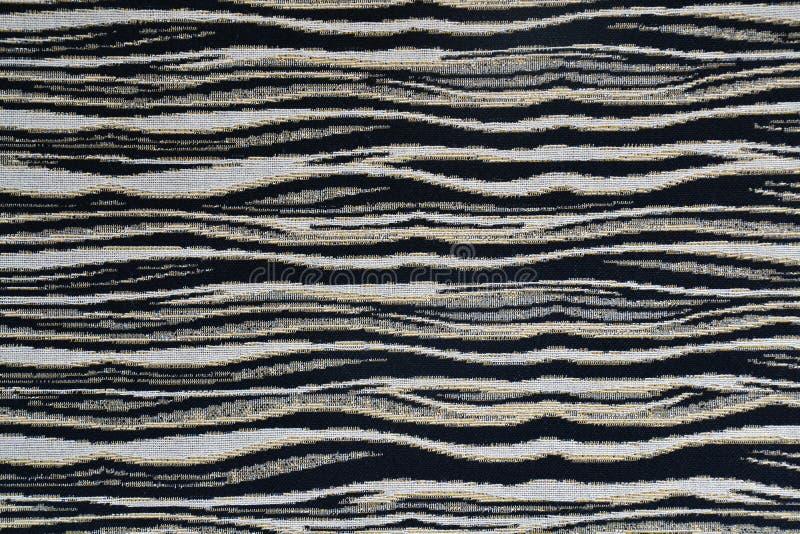 斑马织品纹理 库存照片