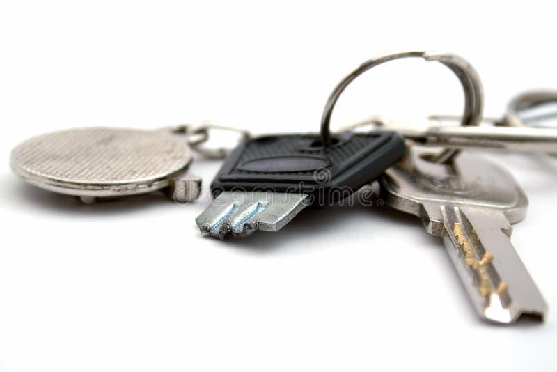 断路键捆 免版税库存照片