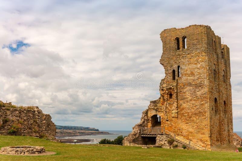 斯卡巴勒城堡,一个前中世纪皇家堡垒 图库摄影