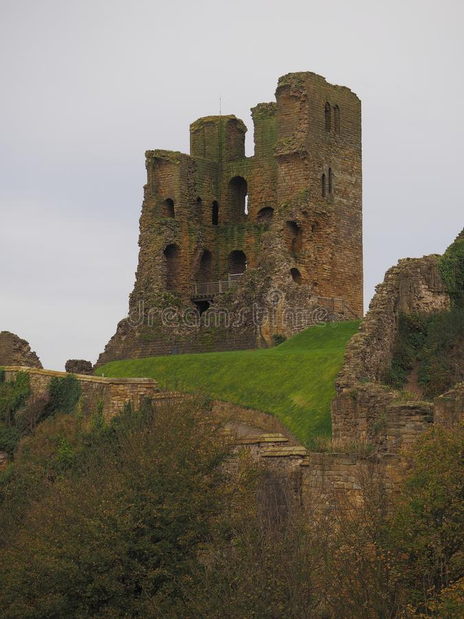 斯卡巴勒城堡 免版税库存照片