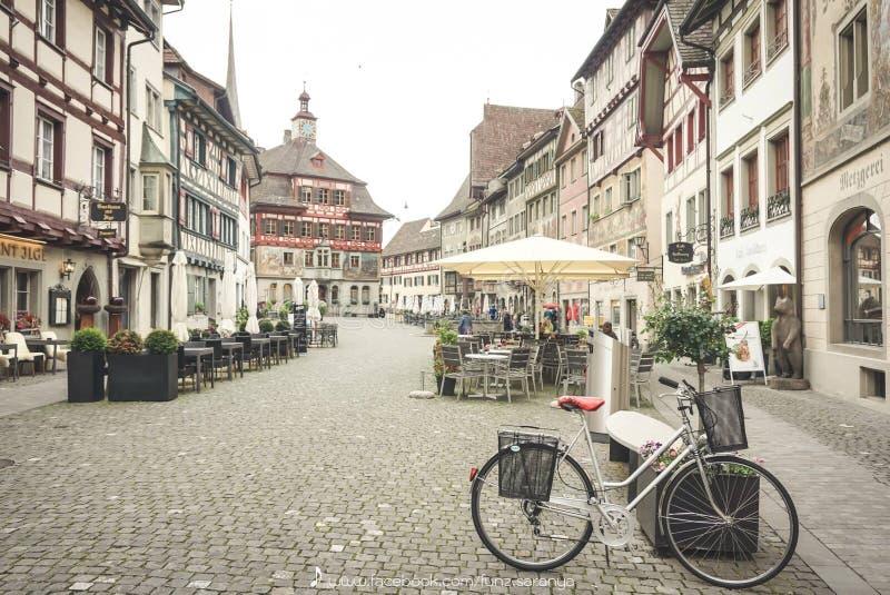 斯坦上午马勒,德国 库存照片