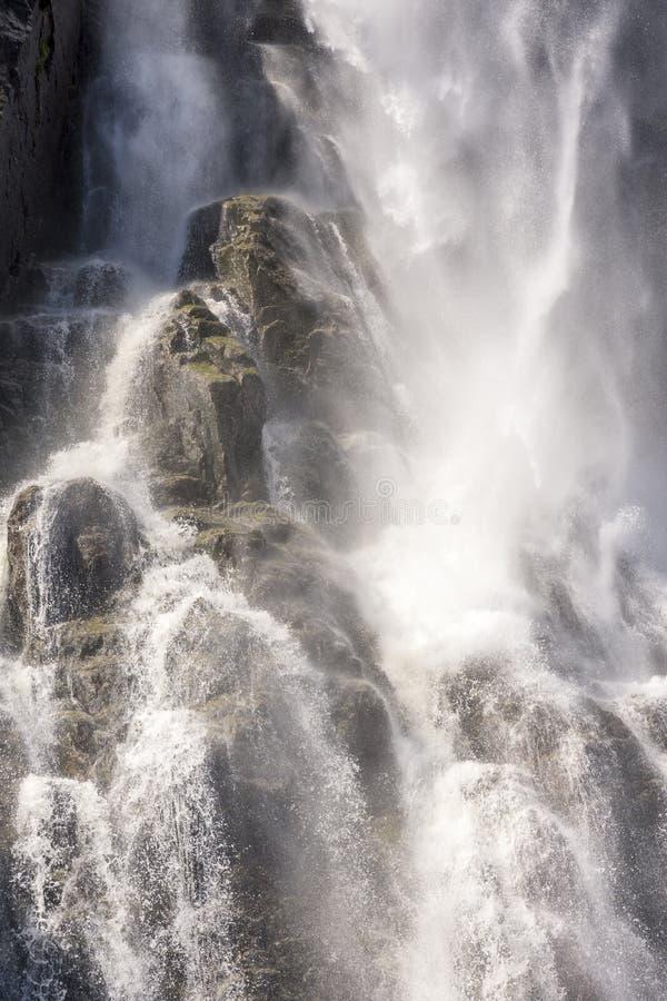 斯塔万格莱塞峡湾瀑布游 免版税库存图片