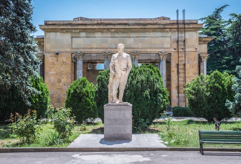 斯大林博物馆在乔治亚 免版税库存照片