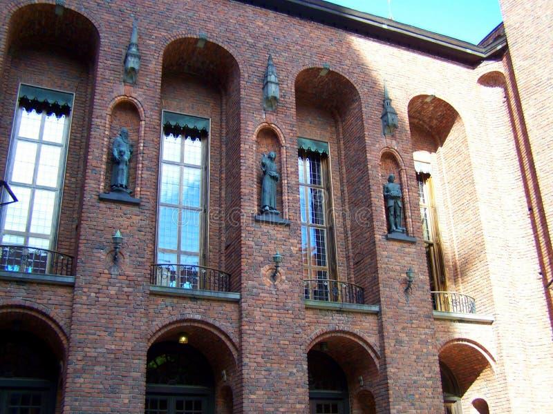 斯德哥尔摩城镇厅大厦 库存照片