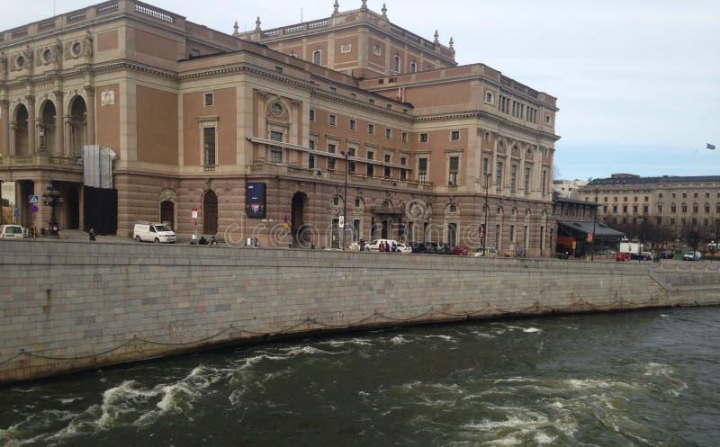 斯德哥尔摩宫殿  库存照片