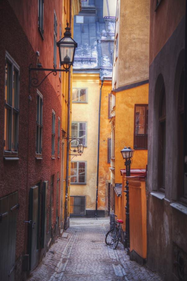 斯德哥尔摩是资本瑞典 免版税库存照片