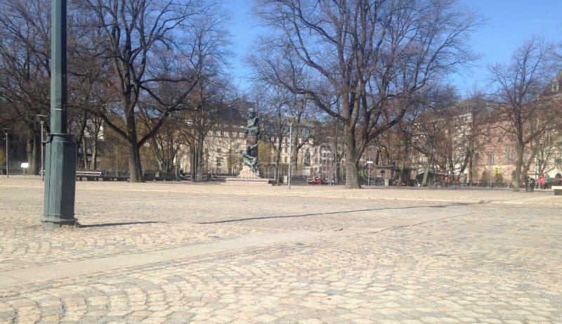 斯德哥尔摩正方形  免版税库存图片
