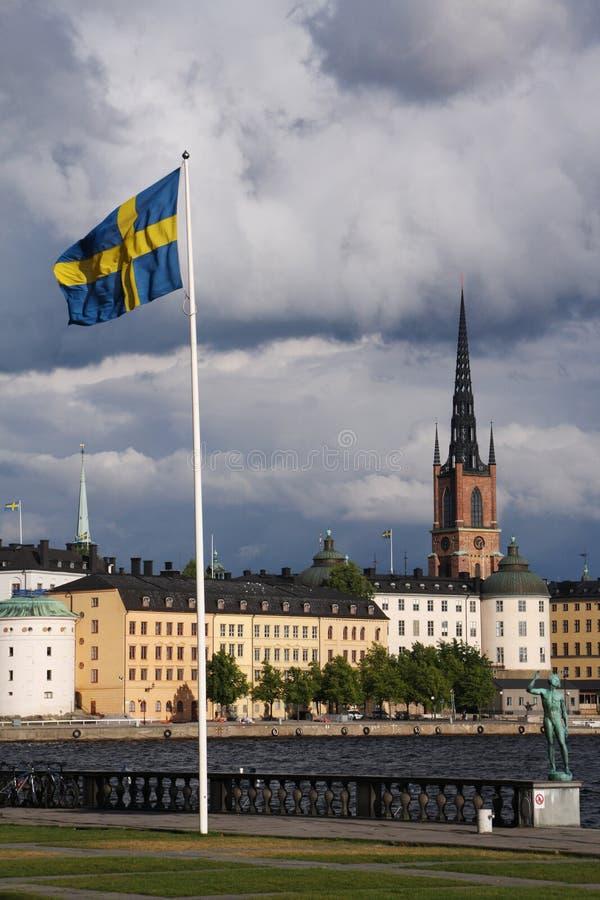 斯德哥尔摩瑞典 库存照片