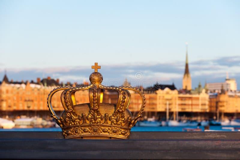 斯德哥尔摩视图 库存图片