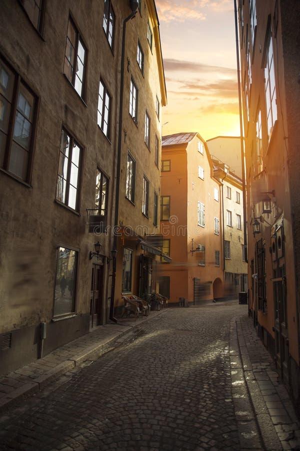 斯德哥尔摩,瑞典都市风景 免版税图库摄影