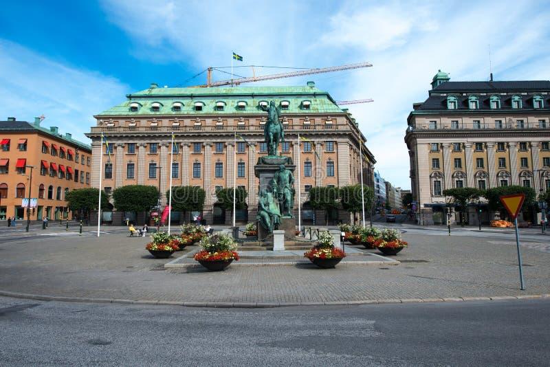 斯德哥尔摩,瑞典 免版税库存图片