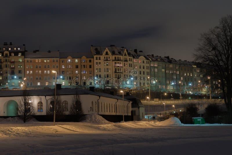 斯德哥尔摩Karlberg 库存照片