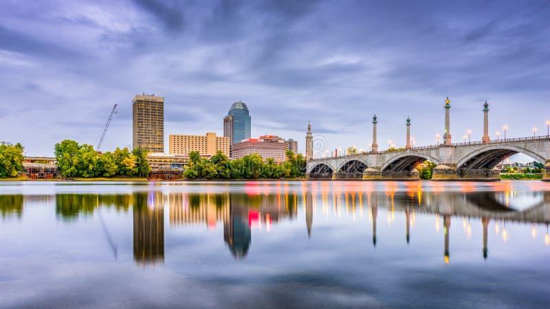 斯普林菲尔德,马萨诸塞,美国 免版税库存照片