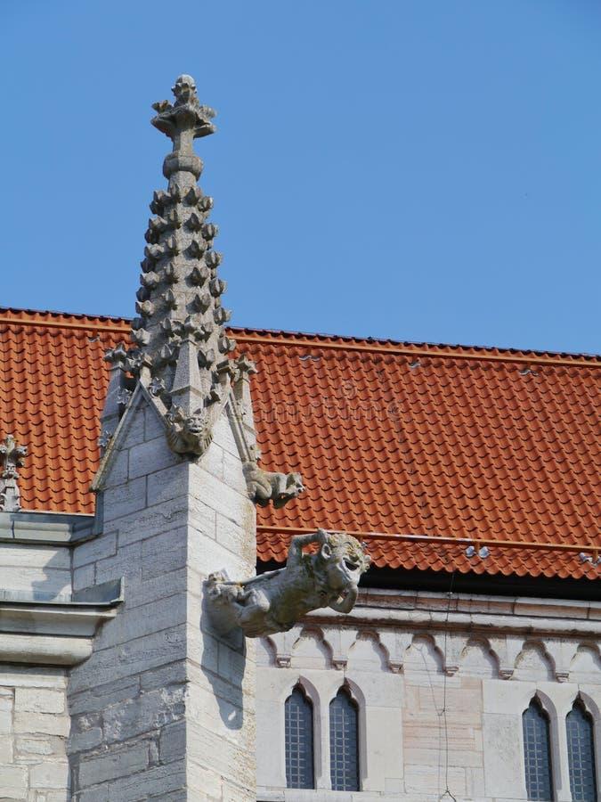 维斯比大教堂哥得兰岛的 免版税图库摄影