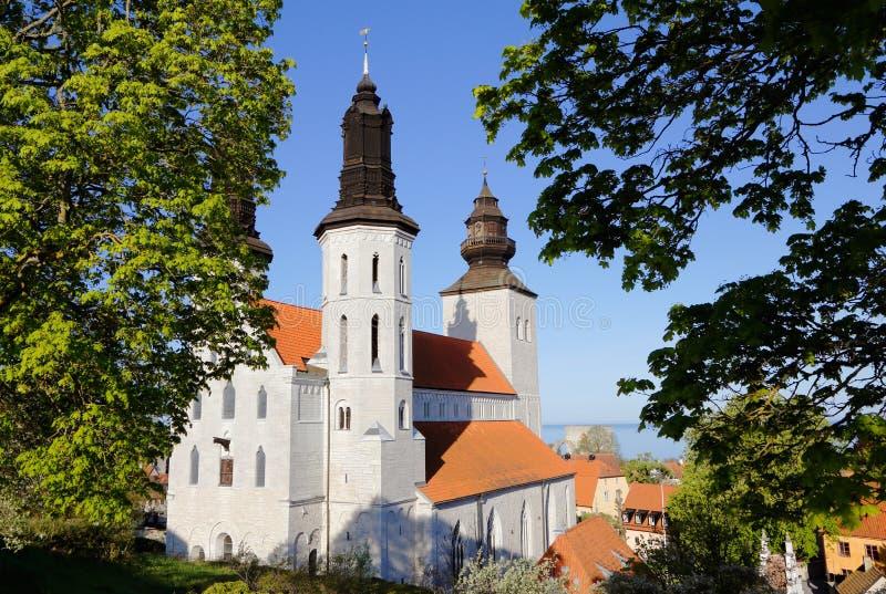 Download 维斯比大教堂瑞典 库存照片. 图片 包括有 拱道, 瑞典, 大教堂, 绿叶, 没人, 基督教, 布琼布拉 - 72369590
