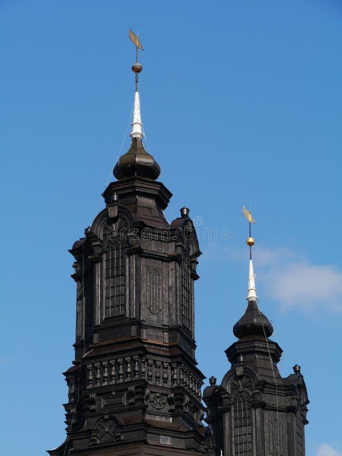维斯比大教堂  免版税图库摄影